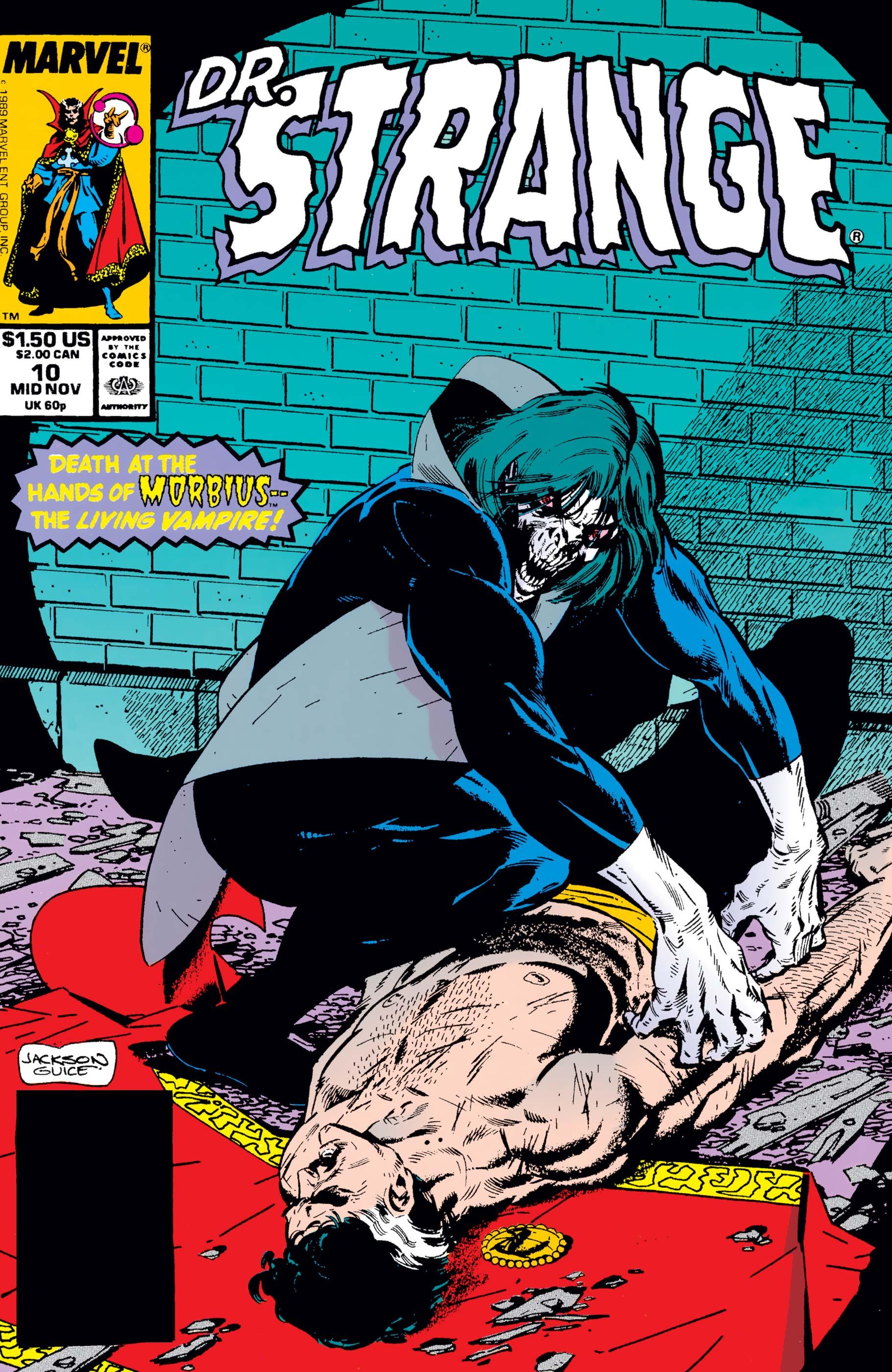 Doctor Strange, Sorcerer Supreme (1988) #10