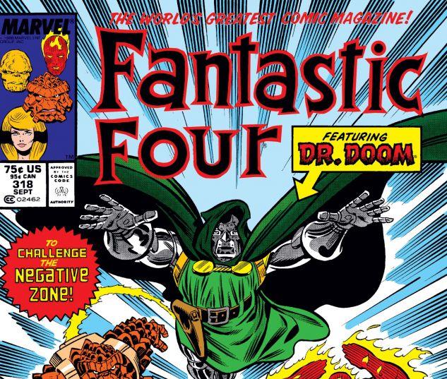 FANTASTIC FOUR (1961) #318