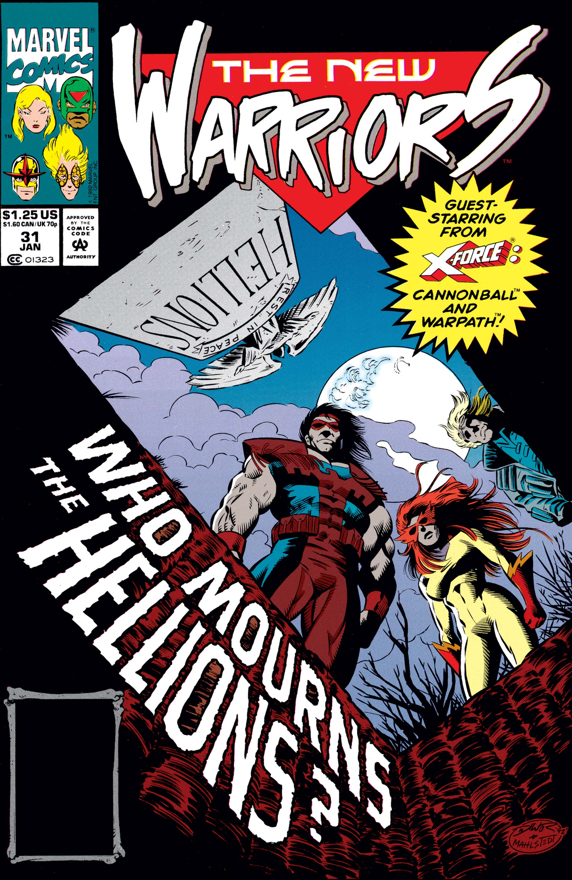 New Warriors (1990) #31