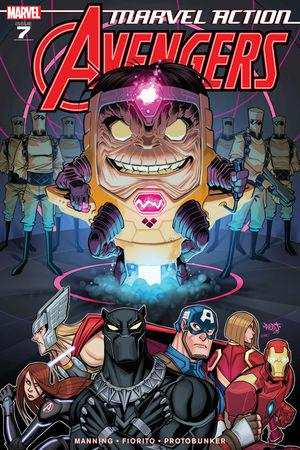 Marvel Action Avengers #7