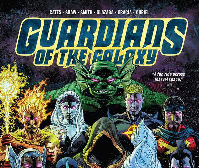 GUARDIANS OF THE GALAXY BY DONNY CATES HC #1