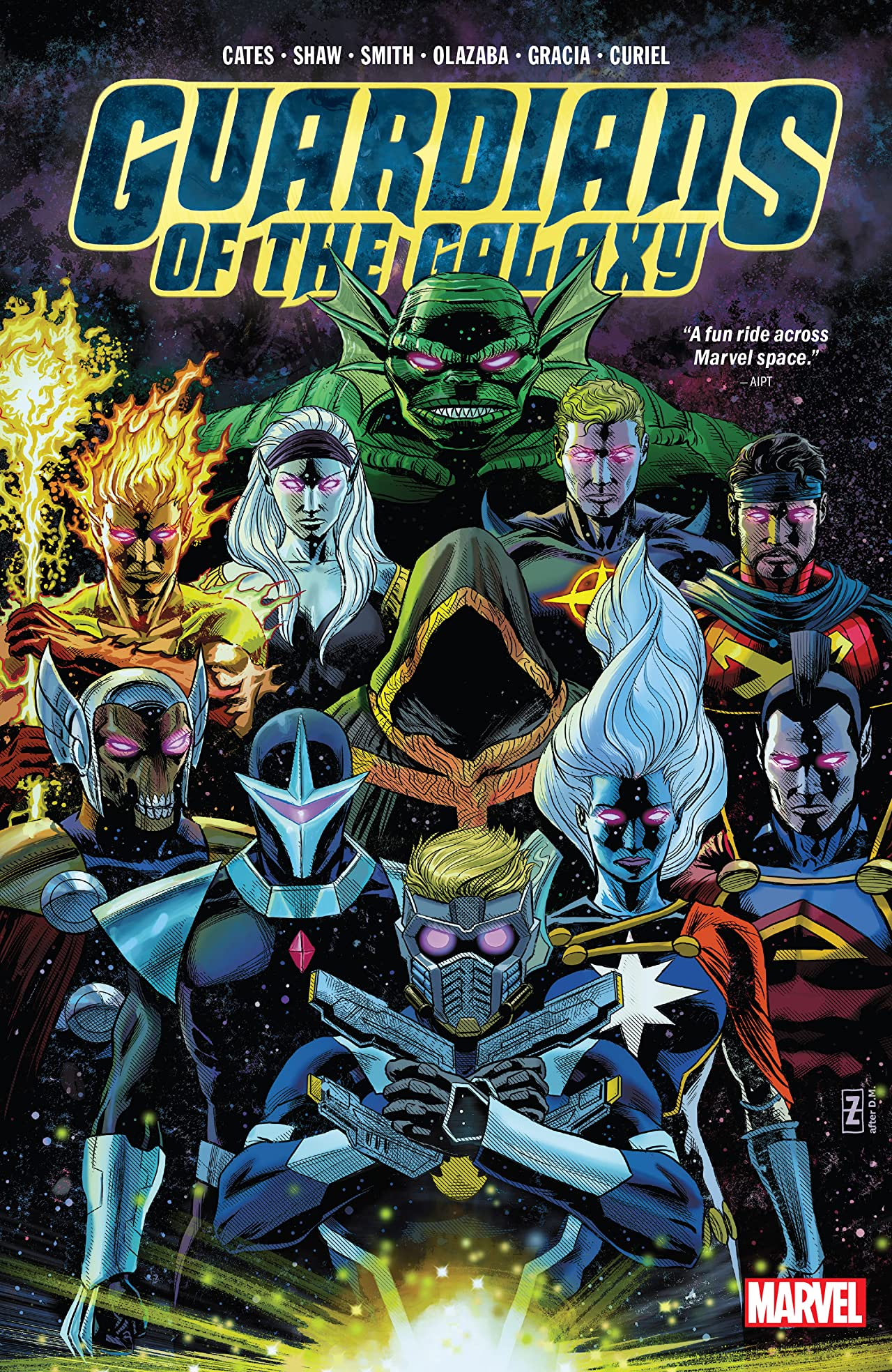 Guardians Of The Galaxy By Donny Cates (Hardcover)