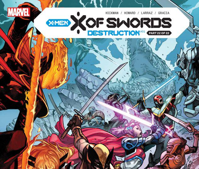 X Of Swords: Destruction #1