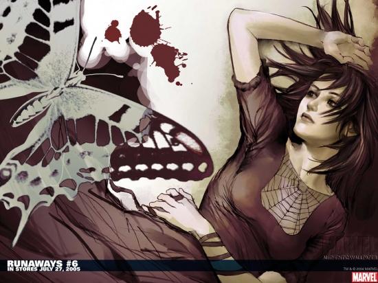 Runaways (2003) #6 Wallpaper