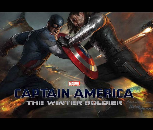 MARVEL'S CAPTAIN AMERICA: THE WINTER SOLDIER - THE ART OF THE MOVIE HC SLIPCASE