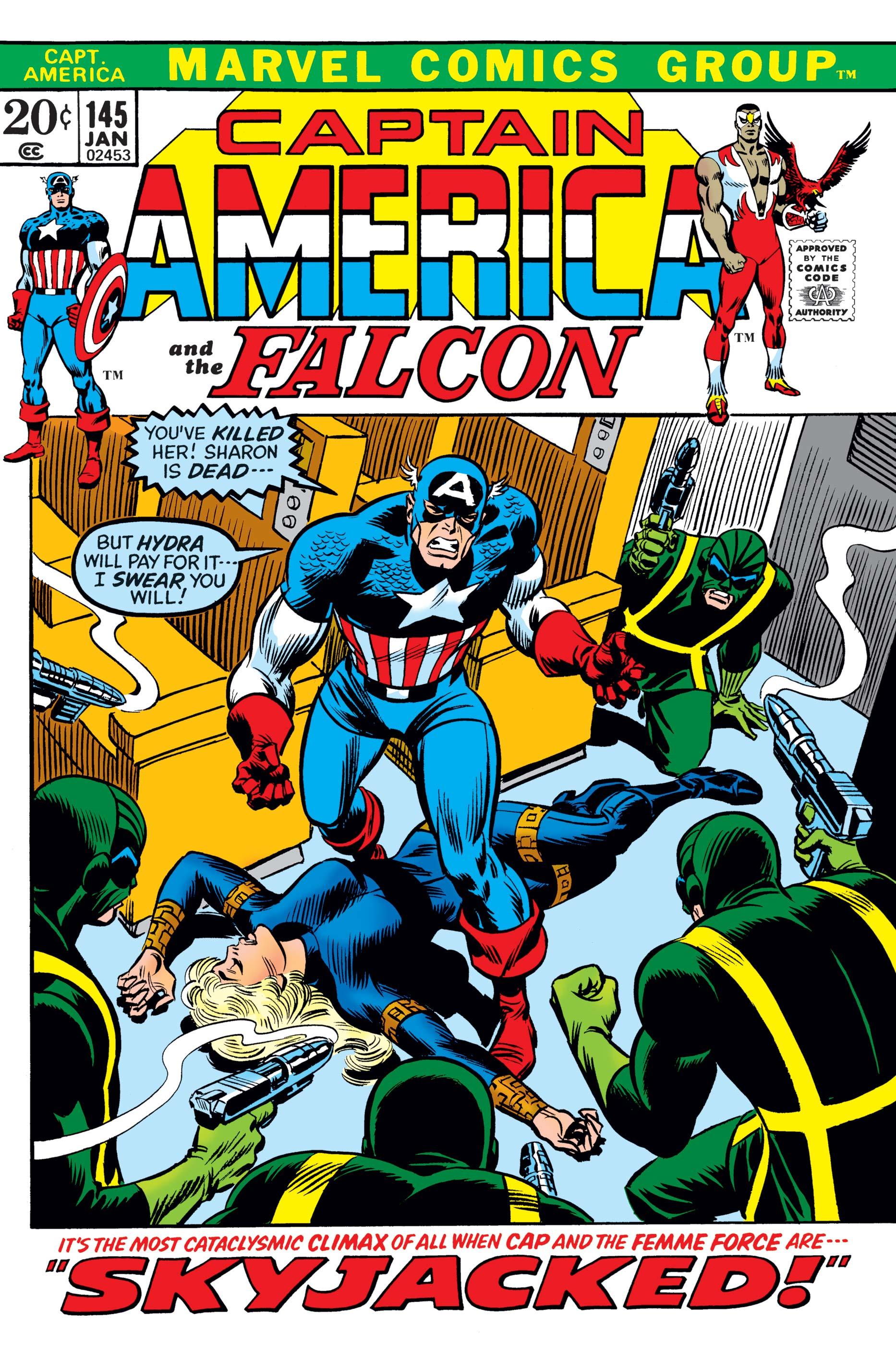 Captain America (1968) #145