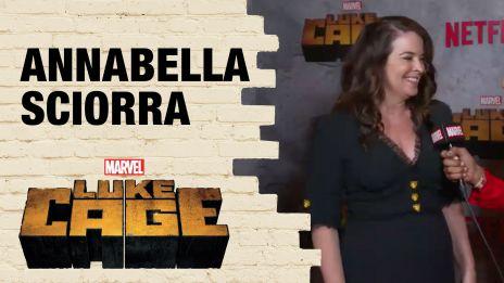 Annabella Sciorra on Playing Crime Boss Rosalie