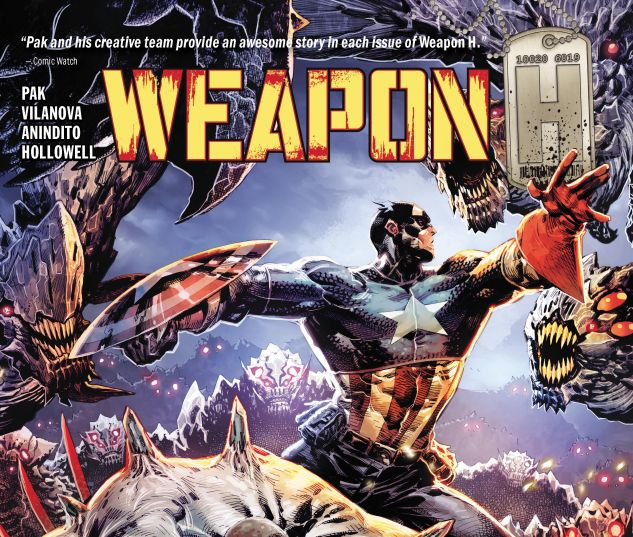 cover from WEAPON H VOL. 2 TPB (2019) #2