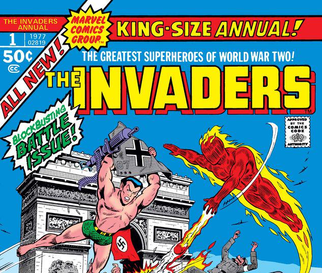 INVADERS ANNUAL 1 #1