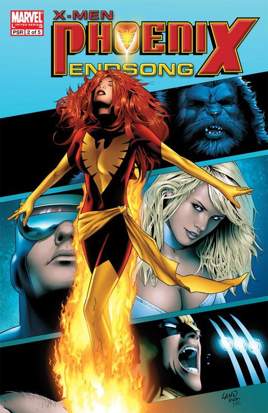 X-Men: Phoenix - Endsong (2005) #2
