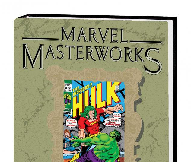 MARVEL MASTERWORKS: THE INCREDIBLE HULK VOL. 7 HC VARIANT (DM ONLY)