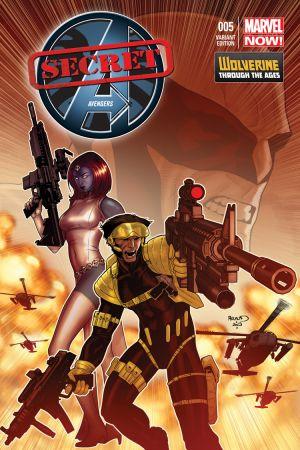 Secret Avengers (2013) #5 (Renaud Wolverine Costume Variant)