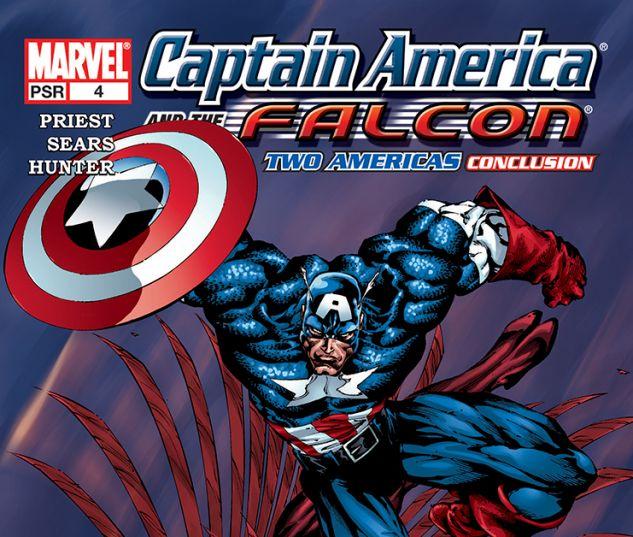 Captain America and the Falcon (2004) #4
