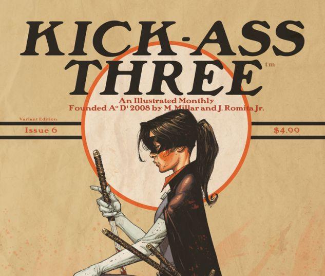 Kick-Ass 3 (2013) #6 (TBD ARTIST VARIANT B)