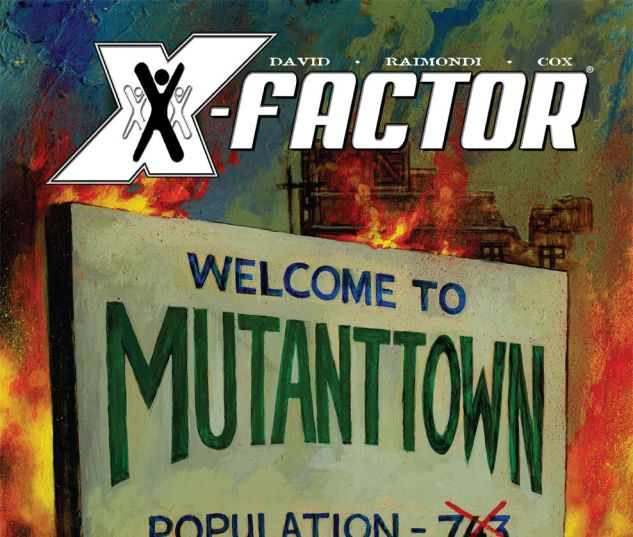 X-Factor (2005) #31 Cover