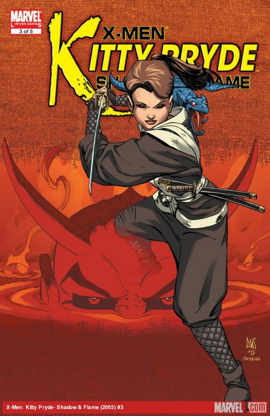 X-Men: Kitty Pryde- Shadow & Flame (2005) #3