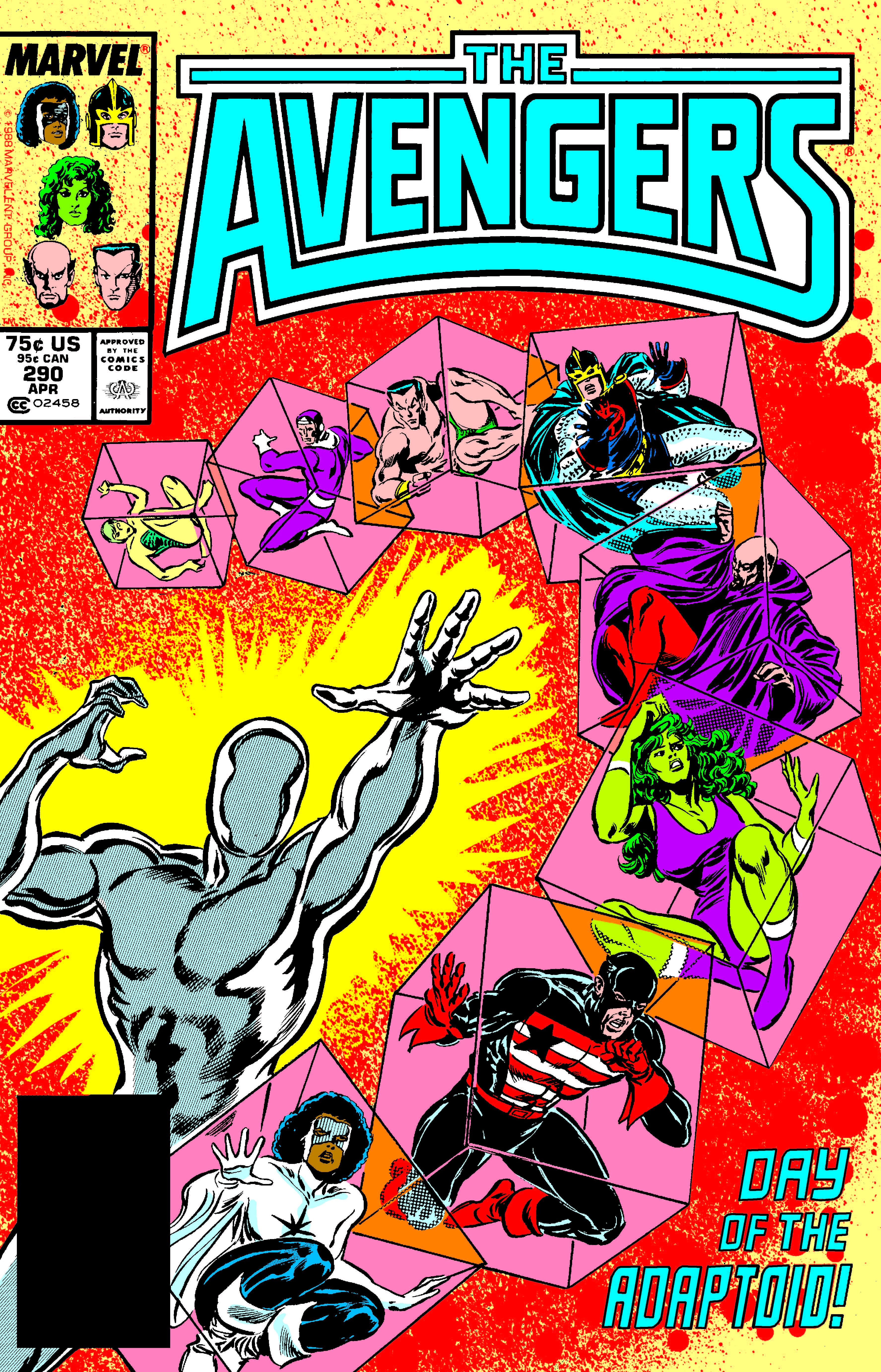 Avengers (1963) #290