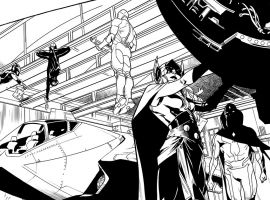 All-New, All-Different Avengers by Mahmud Asrar