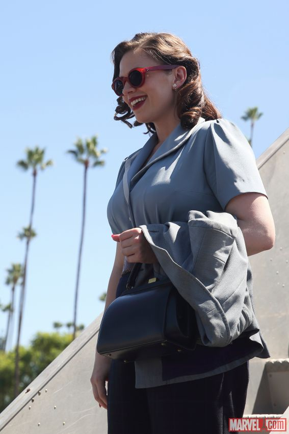 Marvel Releases A New Photo Of Hayley Atwell From Season 2 Of Agent Carter
