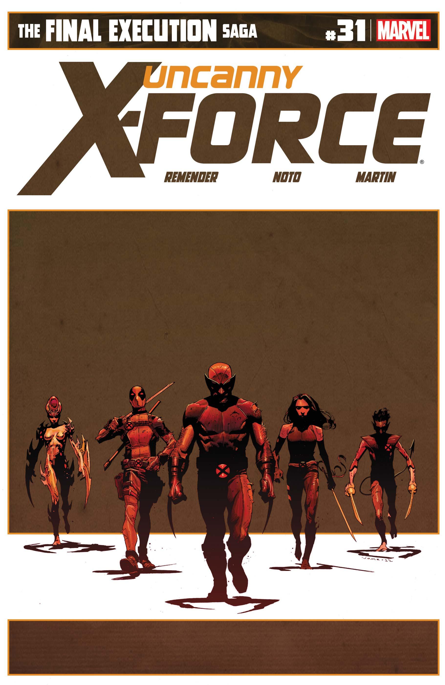 Uncanny X-Force (2010) #31