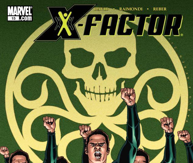 X-Factor (2005) #15