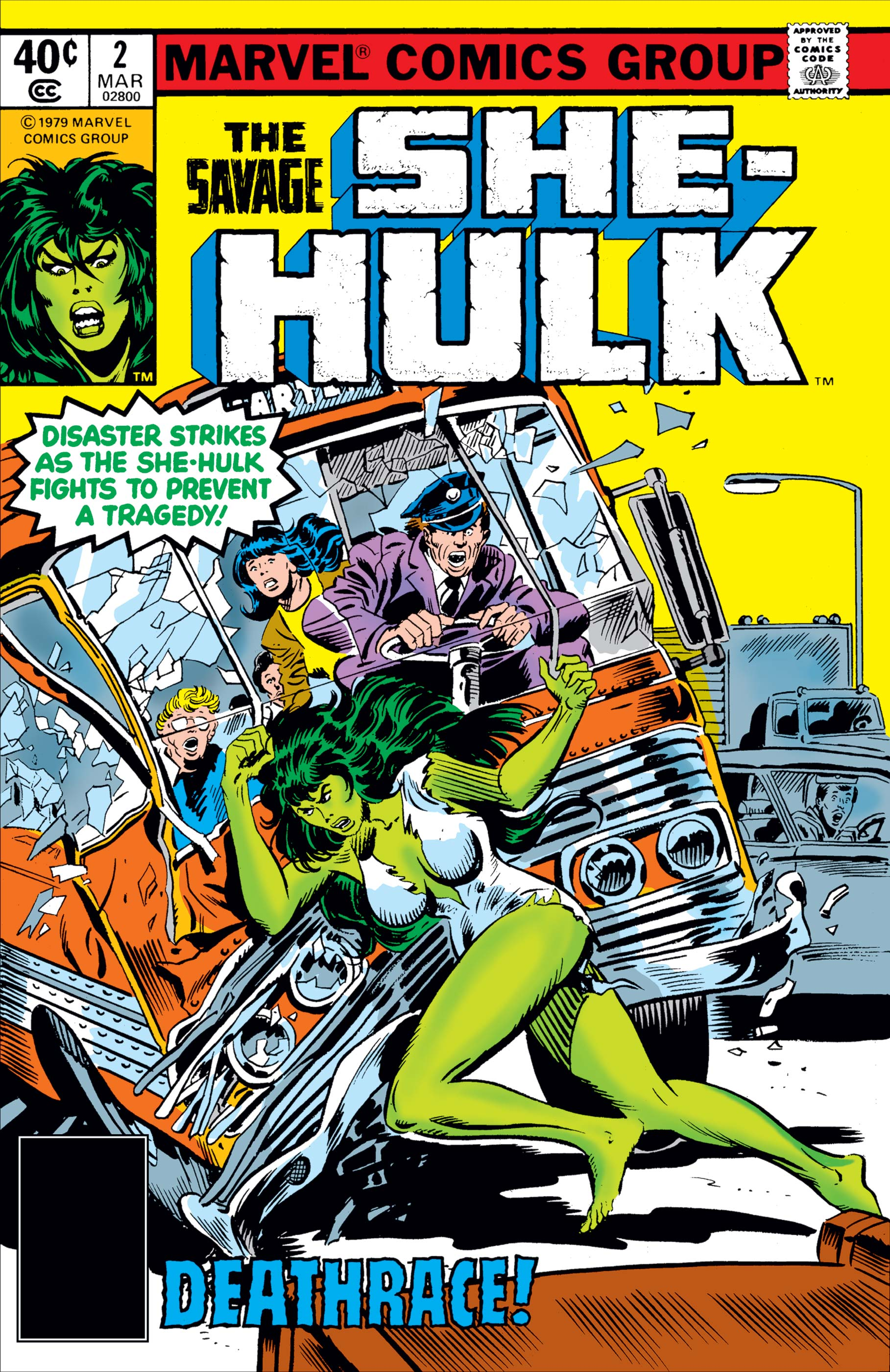 Savage She-Hulk (1980) #2