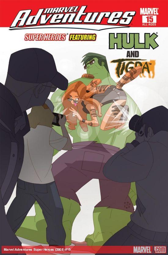 Marvel Adventures Super Heroes (2008) #15