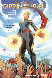 The Mighty Captain Marvel Vol. 1: Alien Nation (Trade Paperback)