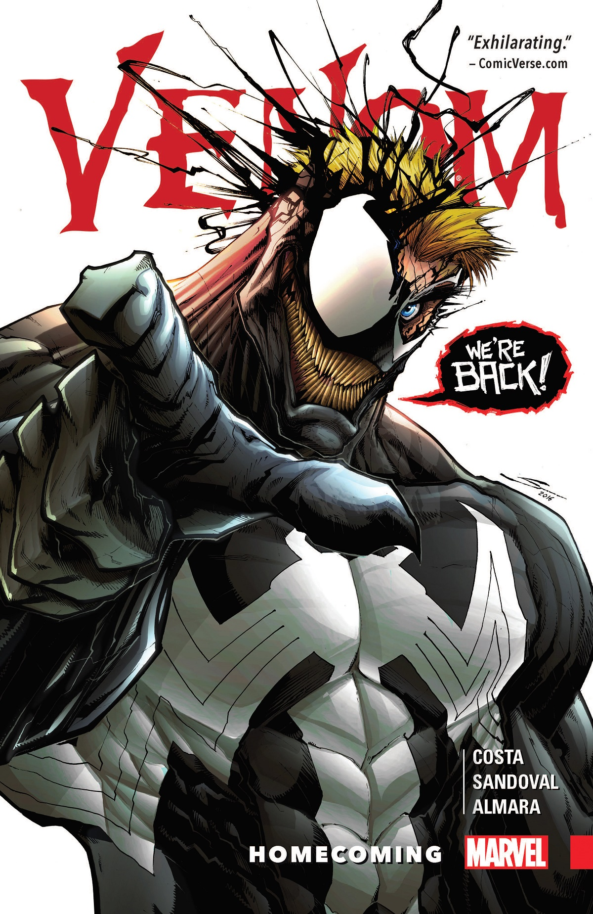 Venom Vol. 1: Homecoming (Trade Paperback)