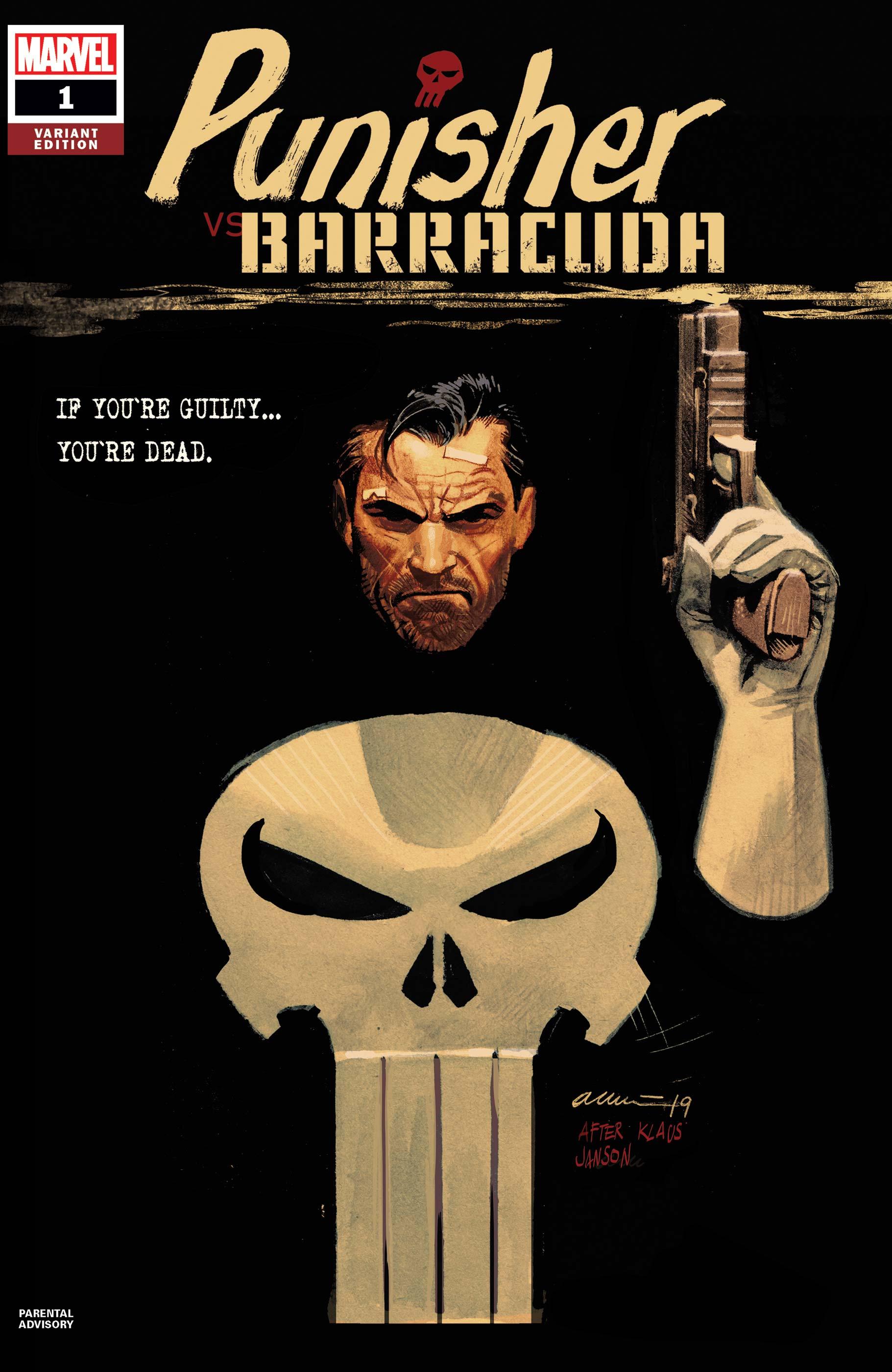 Punisher Vs. Barracuda (2020) #1 (Variant)