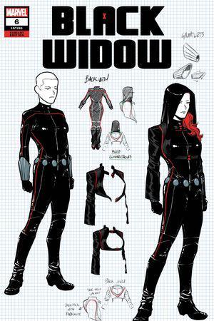 Black Widow #6  (Variant)