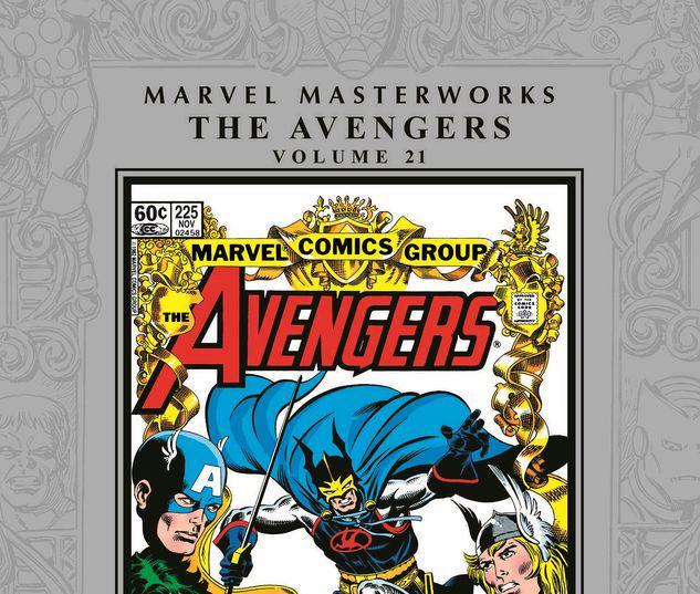 MARVEL MASTERWORKS: THE AVENGERS VOL. 21 HC #21