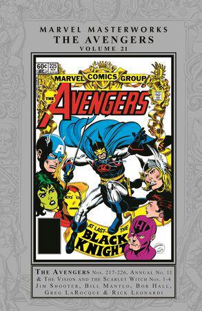 Marvel Masterworks: The Avengers Vol. 21 (Hardcover)