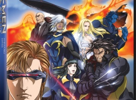 X-Men anime DVD box art