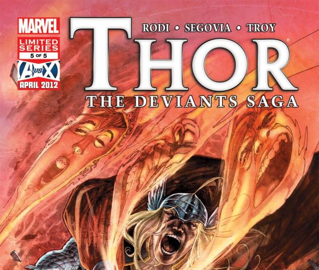THOR: THE DEVIANTS SAGA (2011) #5