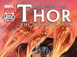THOR: THE DEVIANTS SAGA (2011) #5