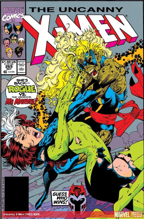 Uncanny X-Men (1963) #269