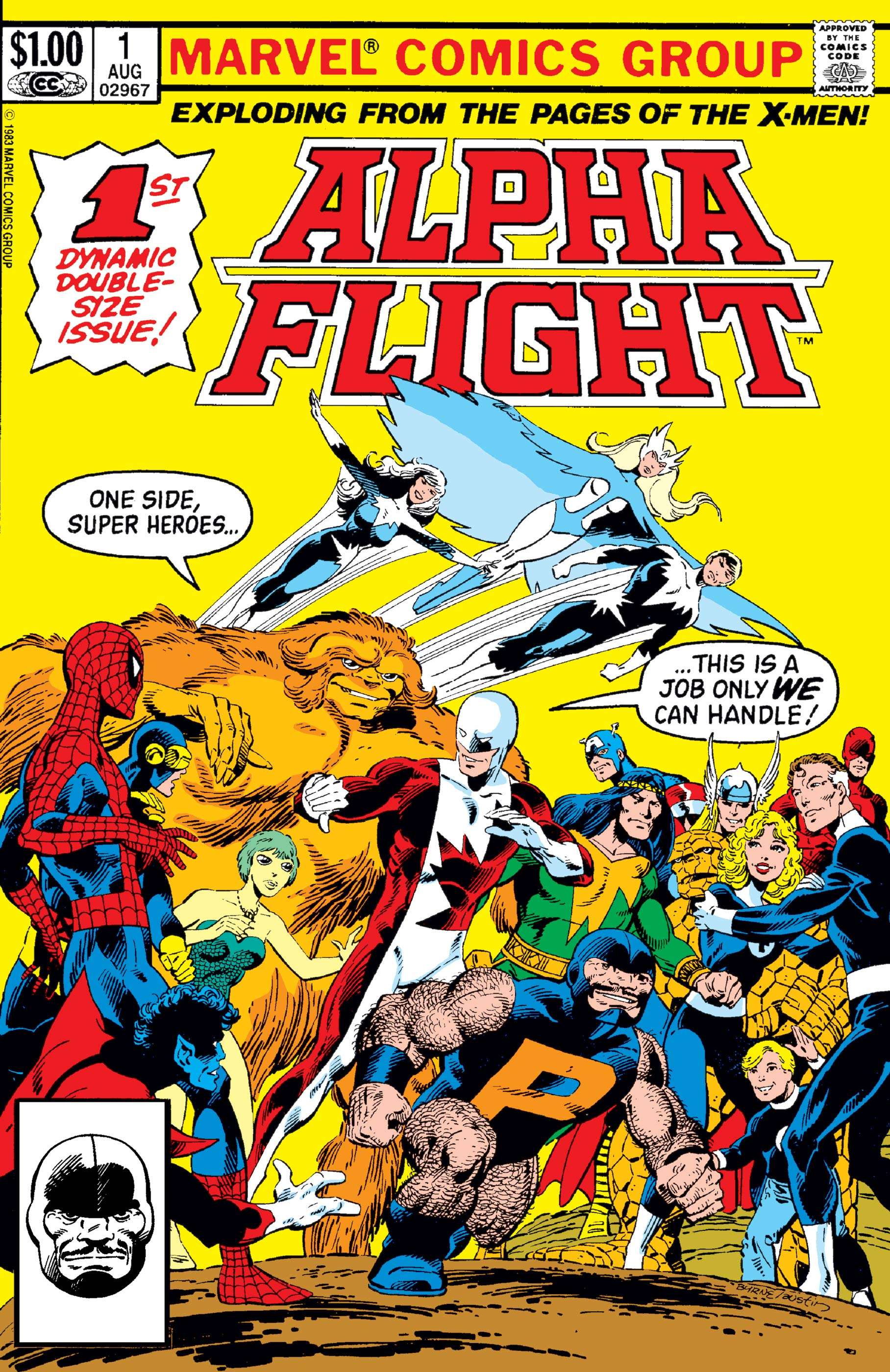 Alpha Flight (1983) #1 | Comic Issues | Marvel