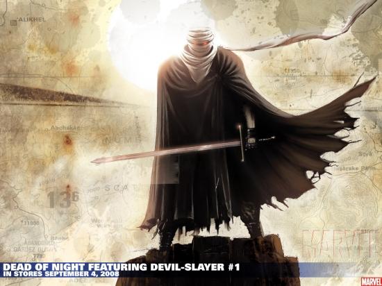 Dead of Night Featuring Devil-Slayer (2008) #1 Wallpaper