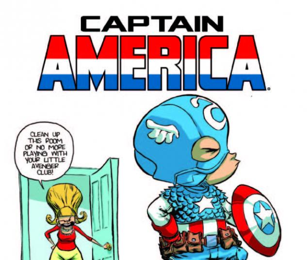 CAPTAIN AMERICA 1 YOUNG VARIANT