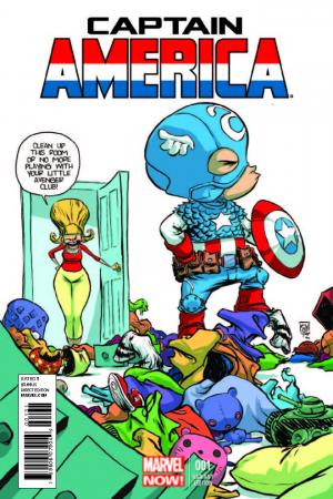 Captain America (2012) #1 (Young Variant)