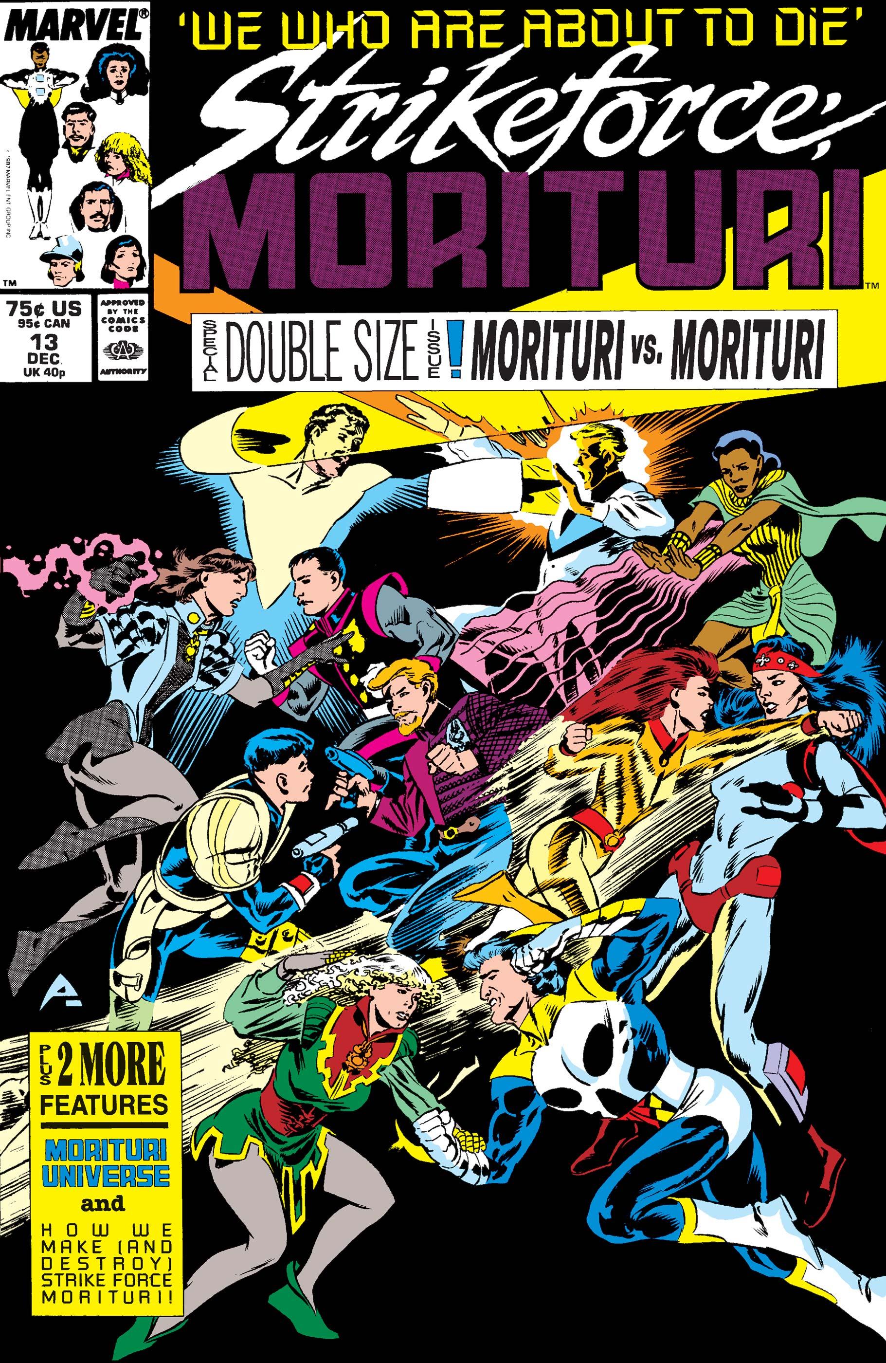 Strikeforce: Morituri (1986) #13