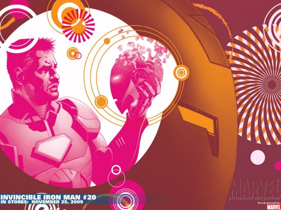 Invincible Iron Man (2008) #20 Wallpaper