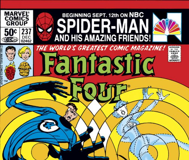 Fantastic Four (1961) #237 Cover