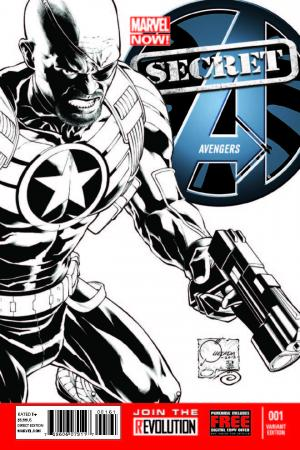 Secret Avengers (2013) #1 (Quesada Sketch Variant)
