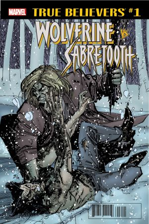 True Believers: Wolverine Vs. Sabretooth (2018) #1