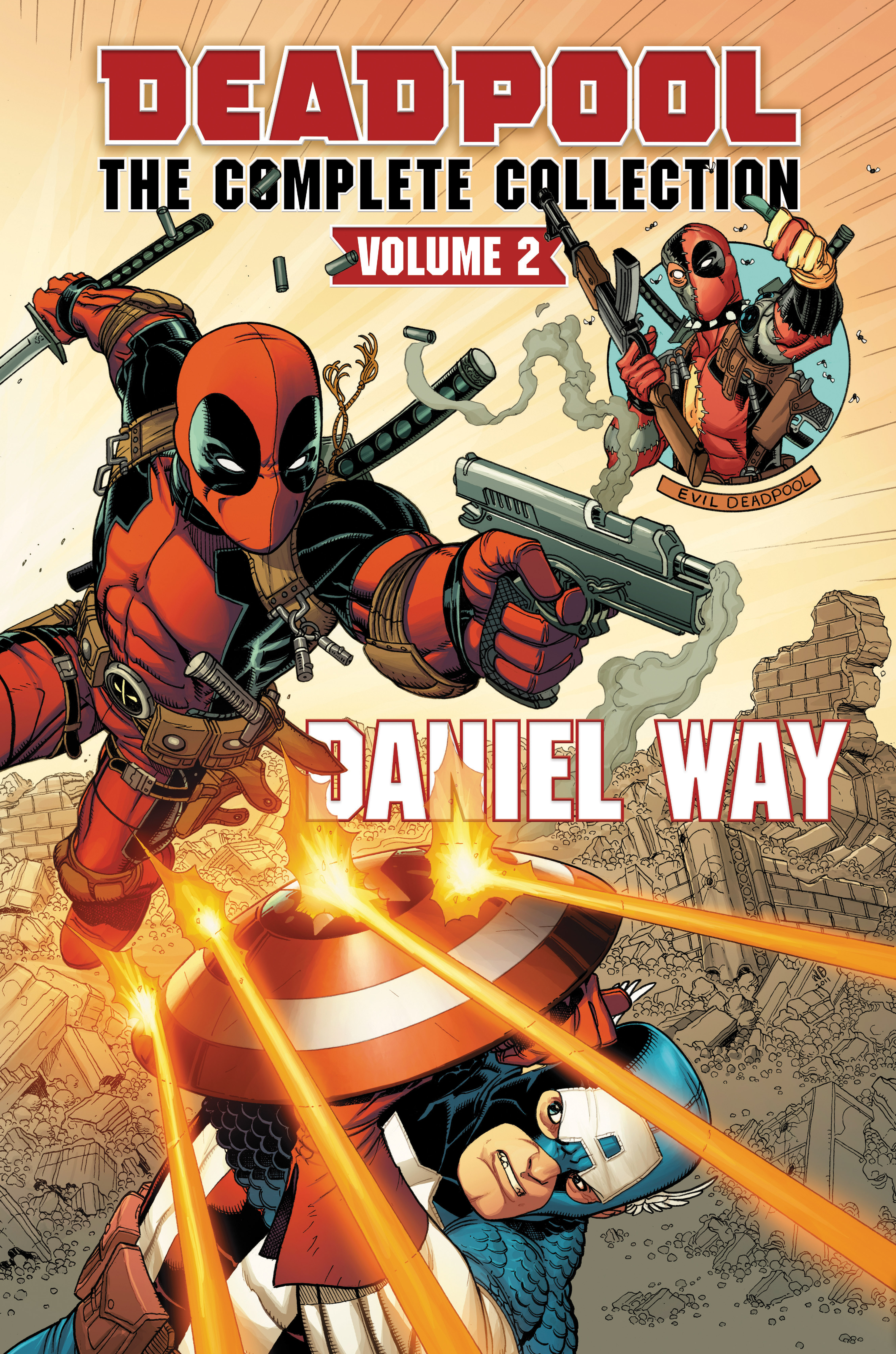 Deadpool By Daniel Way Omnibus Vol. 2 (Hardcover)