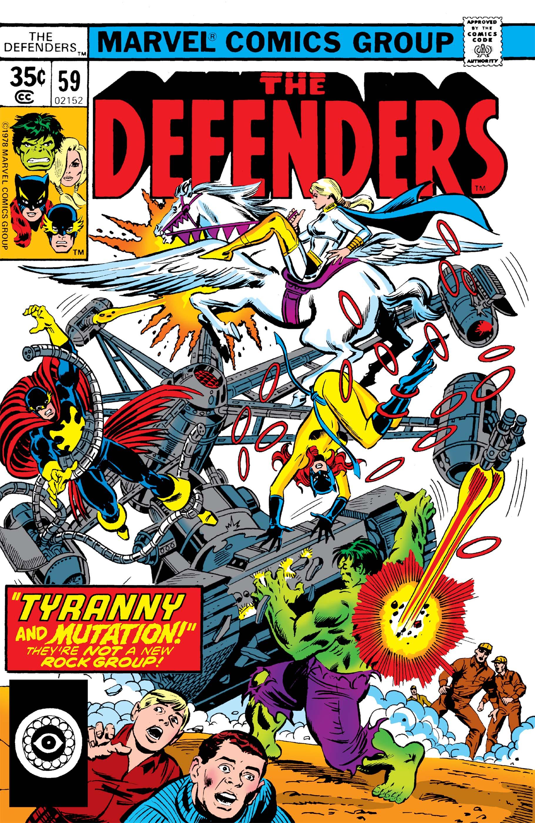 Defenders (1972) #59