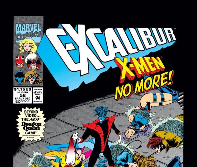 Excalibur (1988) #58 Cover