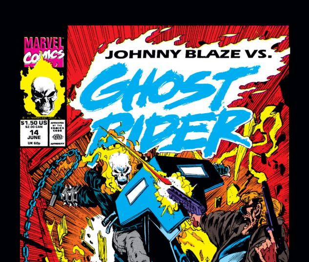 Ghost Rider (1990) #14 Cover